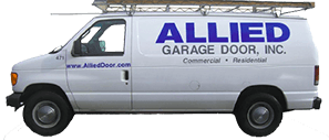 Allied Garage Door, Inc service van