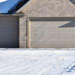 Winter Garage Door